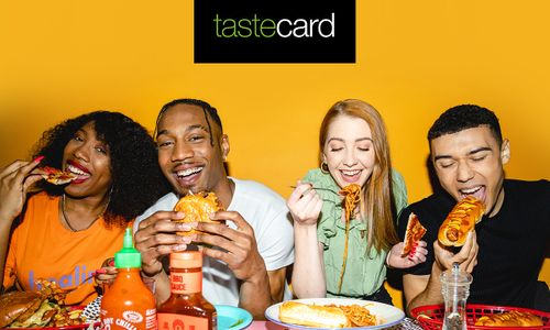 Free tastecard for 2 Months