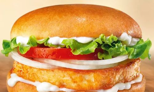 Halloumi Burger at Burger King