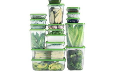 17pc Food Container Set for £4