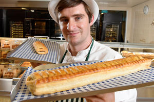 £1 Foot-long Sausage Roll