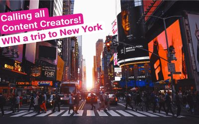Win a Trip to New York and Get Paid £75